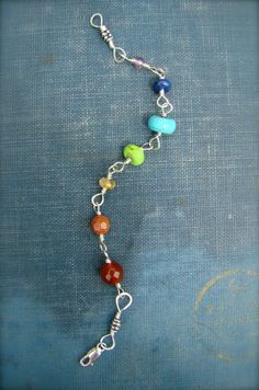 I lost my rainbow bracelet a few years ago, and I'm still looking for a replacement. something like this would be nice.