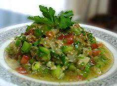 LEBANESE RECIPES: Lebanese Eggplant Salad - (Salatit El Batinjan) Recipe