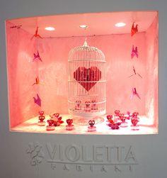 Realizacion de piezas en origami y diagramacion de vidriera by Victoria Zambianchi