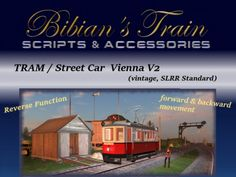 Tram- / Streetcar Package Vienna V2 (vintage, SLRR)