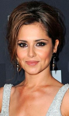 Cheryl Cole Goes Sophisticated With An Updo At The AZ Party, 2010