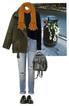 """""""flowers"""" by junk-food ❤ liked on Polyvore featuring Jo No Fui, Whistles, Dr. Martens and Monki"""