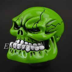 #Green #skull head universal car truck manual stick gear shift knob #lever shifte,  View more on the LINK: 	http://www.zeppy.io/product/gb/2/261497876129/