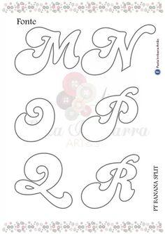 Fonte Stencil Letters Font, Letter Stencils, Alphabet Names, Alphabet Art, Alphabet Fonts, Graffiti Alphabet, Graffiti Lettering, Abc Letra, Quilling Letters
