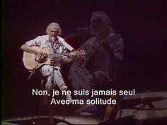 Georges Moustaki - Ma solitude (sous-titres en français)