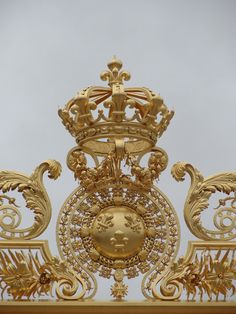 Palace of Versailles: gate detail
