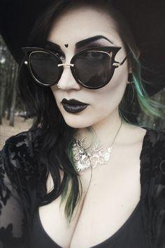 53a9ea1f5c4cf Gotische Dark Fashion, Gothic Fashion, Nu Goth, Wicca, Magick, Goth Girls
