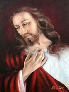 ♡ Beautiful Jesus --This is an artists rendition of our Savior Jesus Christ.