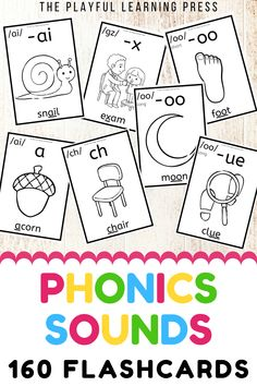 The perfect resource to help learners work on their phonics skills. Each flashcard shows the phoneme (sound e.g. /s/), the grapheme (the spelling of the sound e.g. -ss), an image and example word containing the sound with the grapheme underlined.