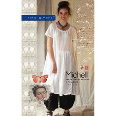 """TINA GIVENS """"MICHELL DRESS"""" Sewing Pattern Tina Givens"""