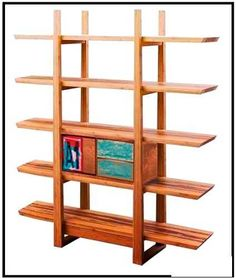 Contemporary design combines with quality craftsmanship to bring you a truly special shelving unit. The Magnolia Shelf by Greenington is a bamboo shelf. Wood Bookshelves, Bookshelf Plans, Bookcase Shelves, Wooden Shelves, Wood Shelf, Oak Shelves, Bookshelf Ideas, Diy Bookshelf Design, Bamboo Shelf