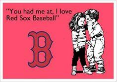 Love Red Sox Baseball