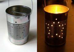 Tin an lantern - for hoedown ?!