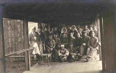 Group of patients with nurses. Image from the Trent University Archives: Nursing Sister Helen L. Fowlds: A Canadian Nurse in World War I Exhibit. History Of Nursing, Destin, World War I, Archive, University, Nurses, Exhibit, Group, Image