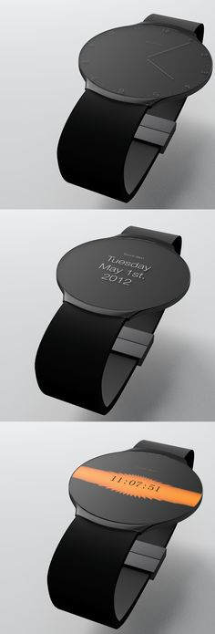Touch Skin Watch concept Niels Astrup