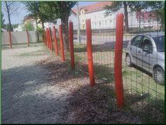 Akác oszlop kerítések