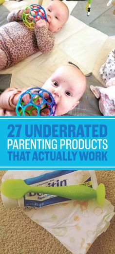 27 Underrated Parenting Products That Actually Work - I think almost all of these would be great to have! Repinned by SOS Inc. Resources pinterest.com/sostherapy/.