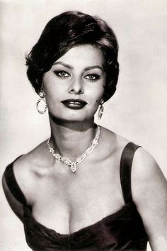 Happy 80, Sophia Loren! Yugoslavian postcard by Studio Sombor.
