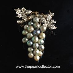 The Pearl Collector - Natural Oyster Pearl Brooch , $3,500.00 (http://www.thepearlcollector.com/natural-oyster-pearl-brooch/)