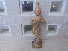 19th Century Bronze Krishna Dancing Indian Very Fine by Lallibhai on Etsy