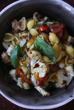 Cauliflower Caponata Pasta #healthy #pasta