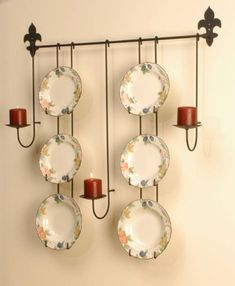 Round Hard Wood Collector Plate Frames | Plate frames | Pinterest ...