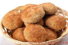 Rågflingebullar GI-bröd