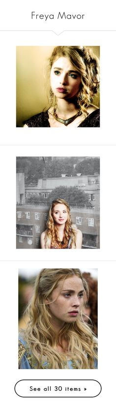 """Freya Mavor"" by savvy-gal333 ❤ liked on Polyvore featuring freya mavor, people, blonde, celebs, faces, freya, mavor, females, girls and celebrities"