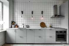 Minimal kitchen with an industrial touch