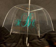 Pesonalized Adult Umbrella. $25.00, via Etsy.