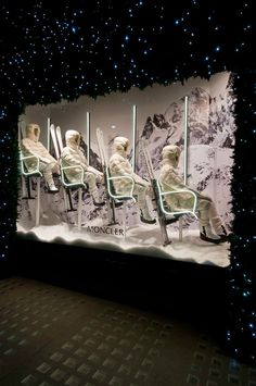 Moncler Winter Window Display - Selfridges,