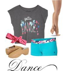 Jazz Dance Outfit by anzerdancer on Polyvore
