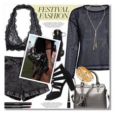 """""""Show Time: Best Festival Trend"""" by svijetlana ❤ liked on Polyvore featuring Christian Louboutin, Chanel, festivalfashion and zaful"""
