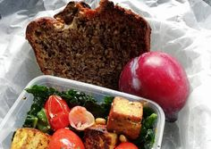 Green Goodness Recipe by Zandile Finxa Pickled Ginger, Sauteed Kale, Gluten Free Banana Bread, Side Salad, Tofu, Great Recipes, Vegetarian Recipes, Lunch, Good Things