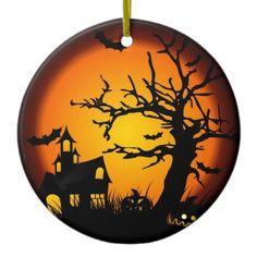 Halloween Ceramic Ornament