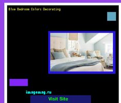 Blue Bedroom Colors Decorating 193359 - The Best Image Search
