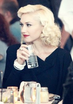 """Gwen Stefani October 3rd 1969  American singer-songwriter, fashion designer and occasional actress. Stefani is the co-founder and lead vocalist for the rock and ska band No Doubt.  """"Every day i fail at something"""""""