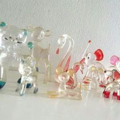 Vintage Toys I remember there were loads of these little glass animals around the house in the 90s Childhood, My Childhood Memories, Great Memories, Retro Vintage, Vintage Toys 80s, 1970s Toys, Vintage Avon, Glass Animals, Plastic Animals
