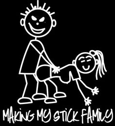 Shop Funny Stick Figures For Car On Wanelo Funny Car Window - Family decal stickers for cars