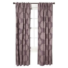 Target Home™ Faux Silk Medallion Window Panel.Opens in a new window