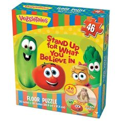 Teacher Freebies & Discounts : Veggie Tales Floor Puzzle | Cardinal