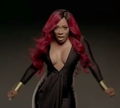 K Michelle Red Hair Vsop