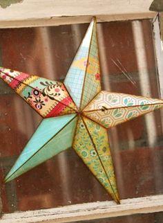 Large Paper Mache Star