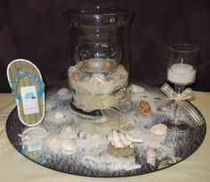 beach centerpieces ideas with starfishsea urchins best image by www ...