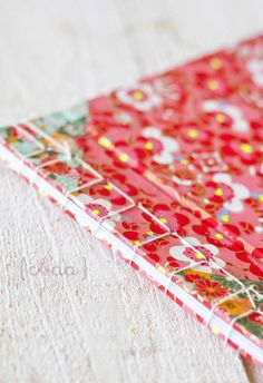 Japanese Binding: notebook with chiyogami paper Journal Paper, Book Journal, Scrapbooking, Scrapbook Albums, Japanese Binding, Arts And Crafts, Paper Crafts, Diy Notebook, Handmade Books