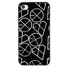 MY MARKET Kpop EXO Personal Number Iphone5/5S Plastic Phone Case Cover... ❤ liked on Polyvore featuring accessories, tech accessories, phone cases, phone, exo and kpop