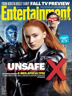 X-Men: Apocalipse | Mutantes se reúnem em capas especiais de revista | Observatório do Cinema