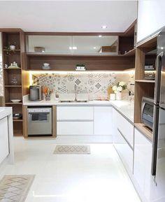 √ Scandinavian Kitchen Design For Your Lovely Home - Boxer JAM Kitchen Room Design, Kitchen Cabinet Design, Modern Kitchen Design, Home Decor Kitchen, Interior Design Kitchen, Home Kitchens, Modern Kitchen Interiors, Modern Kitchen Cabinets, Scandinavian Kitchen