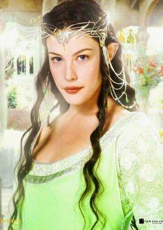 Lady Arwen (Liv Tyler), El señor de los anillos: El retorno del rey, 2003. Peter Jackson.