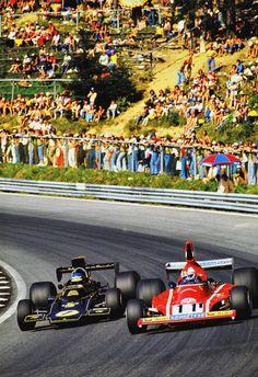 Peterson y Regazzoni. 1974